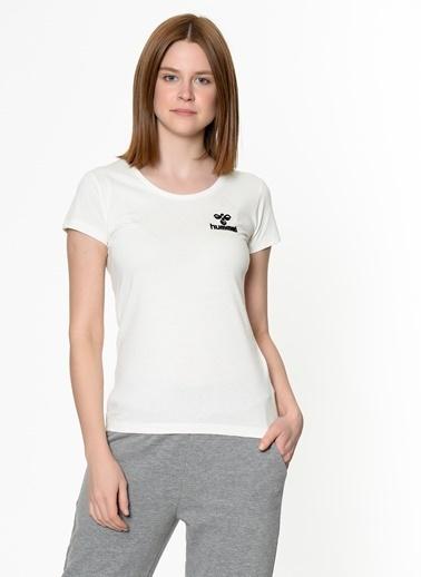 Hummel Kadın Tişört Sabana 911023-9003 Beyaz
